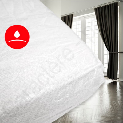 Einmal Bettlaken.Einmal Spannbettlaken Wasserdicht 50 Stuck