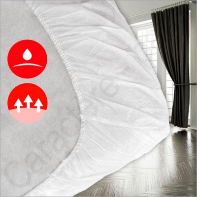 Einmal Bettlaken.Einmal Spannbezuge Nuideal Set Aus 25 Wasserdichten Bettbezugen